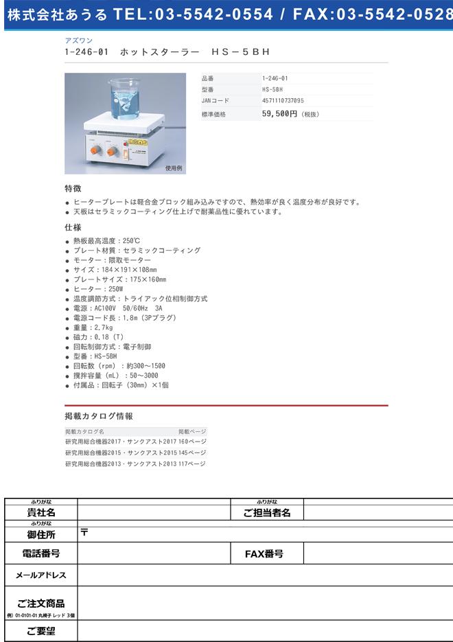1-246-01 ホットスターラー HS-5BH